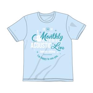 HEKIRU SHIINA 2018 ACOUSTIC Tシャツ【ライトブルー】