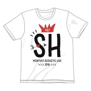HEKIRU SHIINA 2018 SH Tシャツ【ホワイト】