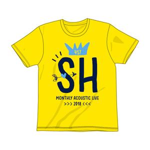 HEKIRU SHIINA 2018 SH Tシャツ【イエロー】
