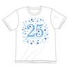 HEKIRU SHIINA 25th アニバーサリーTシャツ【ホワイト】