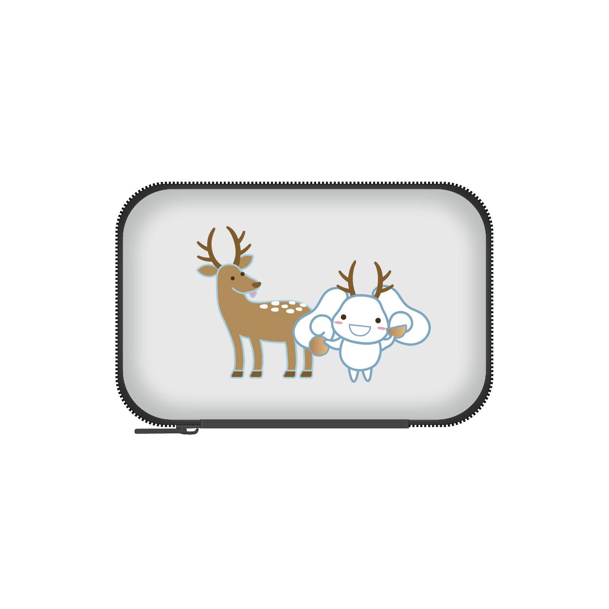 HEKIRU SHIINA モバイルケース【グレー】